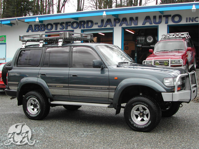 1990 Toyota Landcruiser Vx Limited