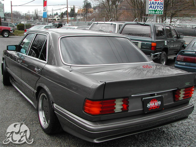 1990 Mercedes Benz 500SE AMG Body Kit
