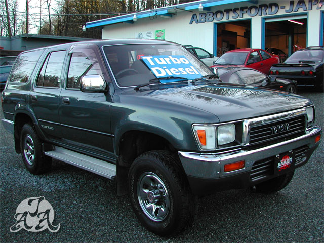 1989 Toyota Hilux Surf Turbo Diesel Only 58 000km