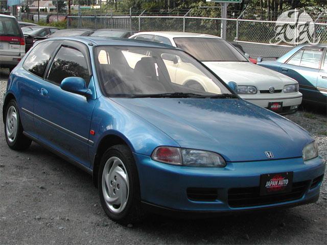 Blue Honda Civic >> 92 Honda Civic SiR-II - Only 101K kms