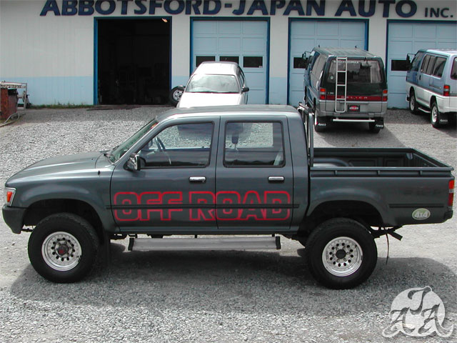 90 Toyota Hilux Crew Cab Only 68k Kms Diesel