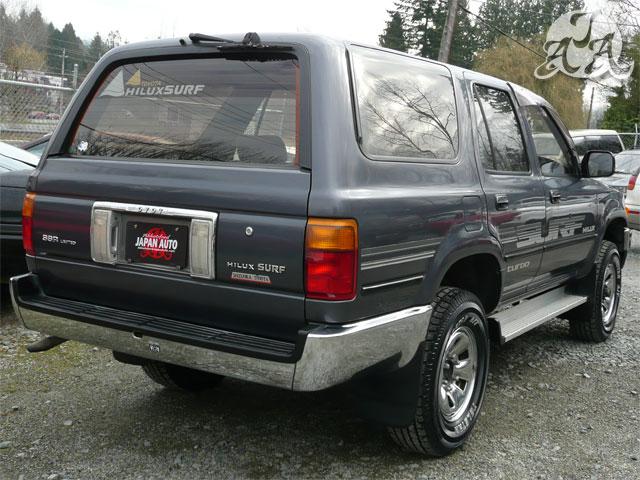1990 Toyota Hilux Surf Turbo Diesel 5spd Only 91k Kms